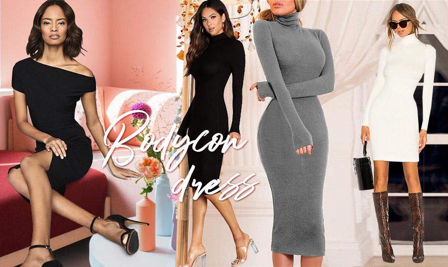 Bodycon: Το φόρεμα που «αγκαλιάζει» το σώμα επιστρέφει ανανεωμένο