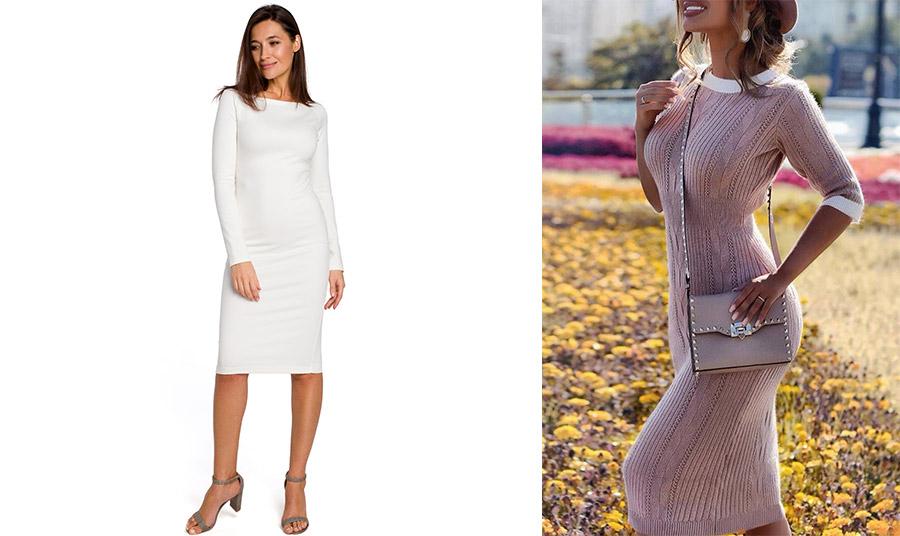 To φόρεμα που αγκαλιάζει το σώμα και αναδεικνύει τη σιλουέτα, ενώ ταυτόχρονα χαρίζει αίσθηση άνεσης είναι η τάση του φθινοπώρου