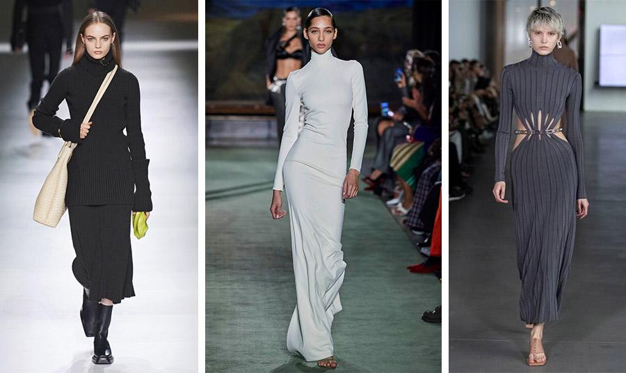 Από τις συλλογές των οίκων μόδας για το φθινόπωρο 2020-χειμώνας 2021: Bottega Veneta // Brandon Maxwell // Dion Lee