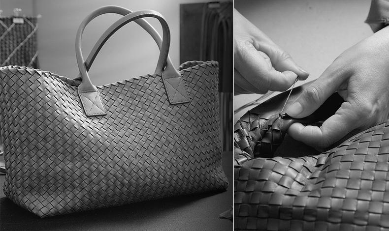 Η τεχνική Intrecciato δημιουργήθηκε για να αποκτήσει μεγαλύτερη αντοχή το δέρμα στα αξεσουάρ της Bottega Veneta, ενώ οι τεχνίτες του οίκου ακολουθούν ειδική εκπαίδευση, η οποία διαρκεί τρία ολόκληρα χρόνια!