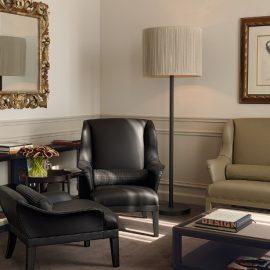 Ακόμη και στη σουίτα Bottega Veneta του πεντάστερου ξενοδοχείου St Regis στη Φλωρεντία, το μοτίβο Intrecciato παίζει σημαντικό διακοσμητικό ρόλο