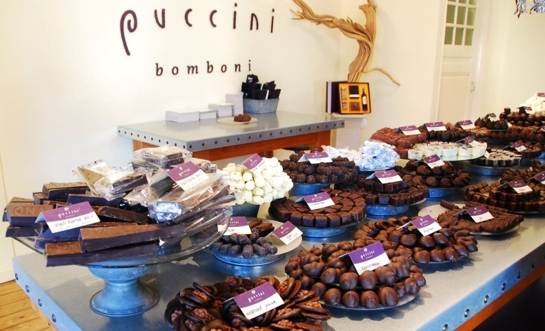 Το Puccini Bomboni στο Άμστερνταμ διαθέτει υπέροχα χειροποίητα σοκολατάκια σε ασυνήθιστες γεύσεις