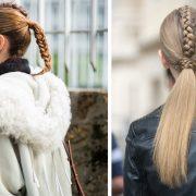 Έχουμε συνηθίσει οι πλεξίδες ψαροκόκαλο να στολίζουν τις άκρες των μαλλιών μας. Σε αυτήν την περίπτωση όμως, μπορούμε να αντιστρέψουμε το look δίνοντας στο κέντρο του κεφαλιού μας την απαραίτητη προσοχή