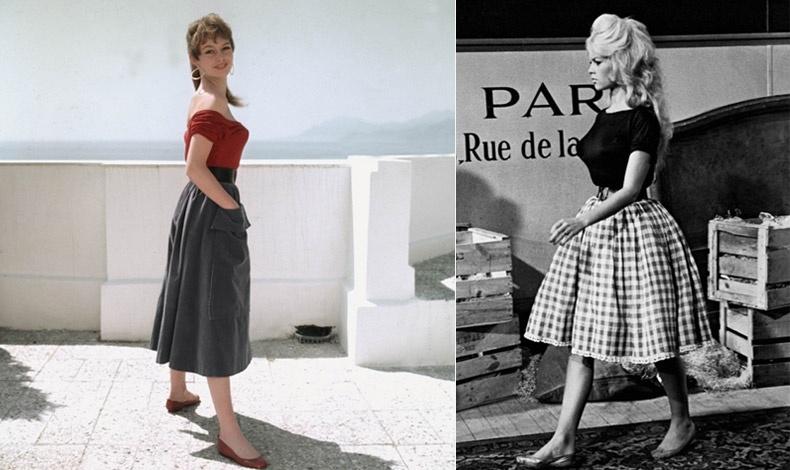 Οι μπαλαρίνες έγιναν τάση από την Μπριζίτ και πενήντα χρόνια μετά αποτελούν ένα από τα ζευγάρια παπούτσια που οφείλουμε να διαθέτουμε!