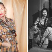 H Kate Moss λάμπει στην καμπάνια Vivienne Westwood x Burberry // Andreas Kronthaler και Vivienne Westwood για τη φωτογράφηση