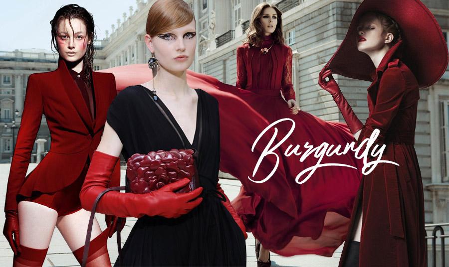Red, Red Wine: Το κόκκινο Βουργουνδίας είναι ισχυρή τάση της μόδας