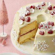 Τούρτα με λευκή σοκολάτα: Το ονειρεμένο γλυκό των Γιορτών