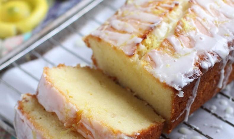 Κέικ λεμονιού με στραγγιστό γιαούρτι