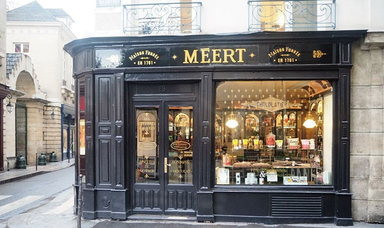 Το Meert στη Lille διαθέτει το στιλ και την ιστορία της γαλλικής φινέτσας και μία ποικιλία από ζαχαρωτά και καραμέλες με σοκολάτα που αξίζει την επίσκεψή μας!