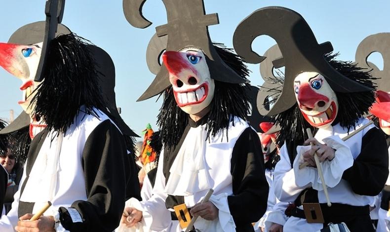 Καρναβαλιστές στη Βασιλεία, ένα καρναβάλι με μεσαιωνικά έθιμα