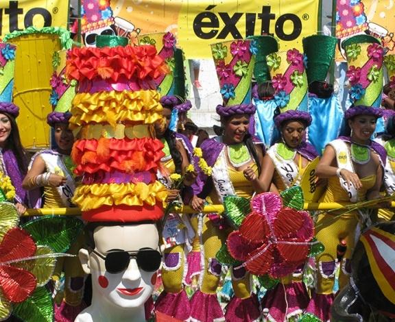 Το καρναβάλι της Κολομβίας με αυθεντική μουσική και χορούς
