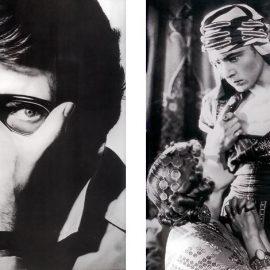 """Ο Yves Saint Laurent φορά το αρχικό μοντέλο La Tank Must, 1983 / O Rudolph Valentino στην τελευταία του εμφάνιση στη μεγάλη οθόνη με την """"Κόρη του σεϊχη"""", 1926 απαίτησε να φαίνεται το ρολόι του σε πολλές σκηνές!"""