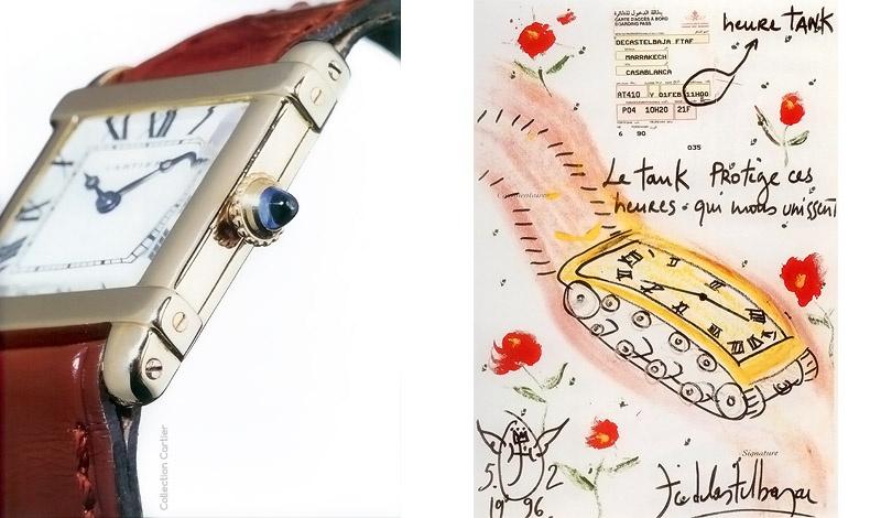 La Tank chinoise, μοντέλο του 1925 / Με αφορμή την παρουσίαση του Tank Francaise στη Γενεύη το 1996, ο σχεδιαστής Jean Charles de Castelbajac δίνει τη δική του εκδοχή...