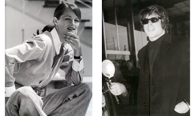 Η βρετανίδα ηθοποιός Charlotte Rampling στις Κάννες το 1976 ενσαρκώνει την απόλυτη κομψότητα / Ο Warren Beatty φθάνοντας στο Παρίσι για την προώθηση της ταινίας του Μπόνι και Κλάιντ το 1968