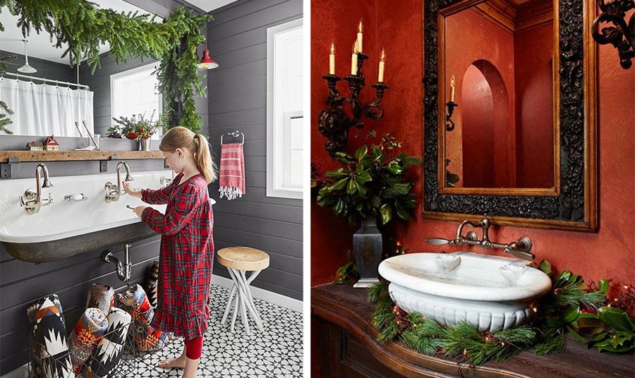 Στολίσετε το μπάνιο σας γιορτινά!