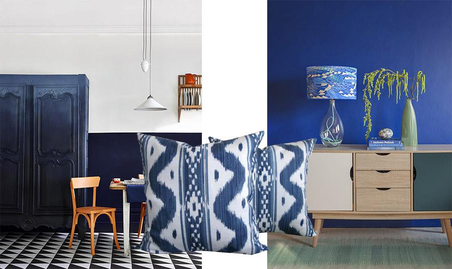 Η συγκεκριμένη απόχρωση του μπλε χρώμα εκφράζει την αξιοπιστία, την πίστη και τη σταθερότητα, αξίες που έχει ανάγκη η ανθρωπότητα αυτή την εποχή! Εντάξτε το ακόμη και με δύο μαξιλαράκια στο σπίτι σας!