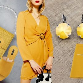 Το χρώμα της άνοιξης φέτος είναι το κίτρινο-μουσταρδί!
