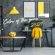 Κίτρινο και γκρι: Το «ζευγάρι» χρωμάτων της χρονιάς 2021