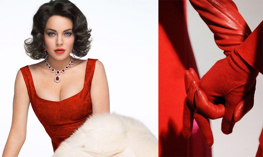 Φοράμε κόκκινο όταν θέλουμε να δείξουμε τον δυναμισμό, την ερωτική μας διάθεση ή για να τραβήξουμε την προσοχή!