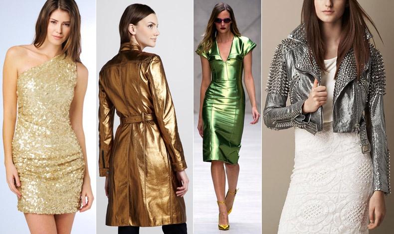 Οι γυναίκες με λίγο πιο σκούρο ή ηλιοκαμένο δέρμα μπορούν να φορέσουν όλα τα μεταλλικά χρώματα