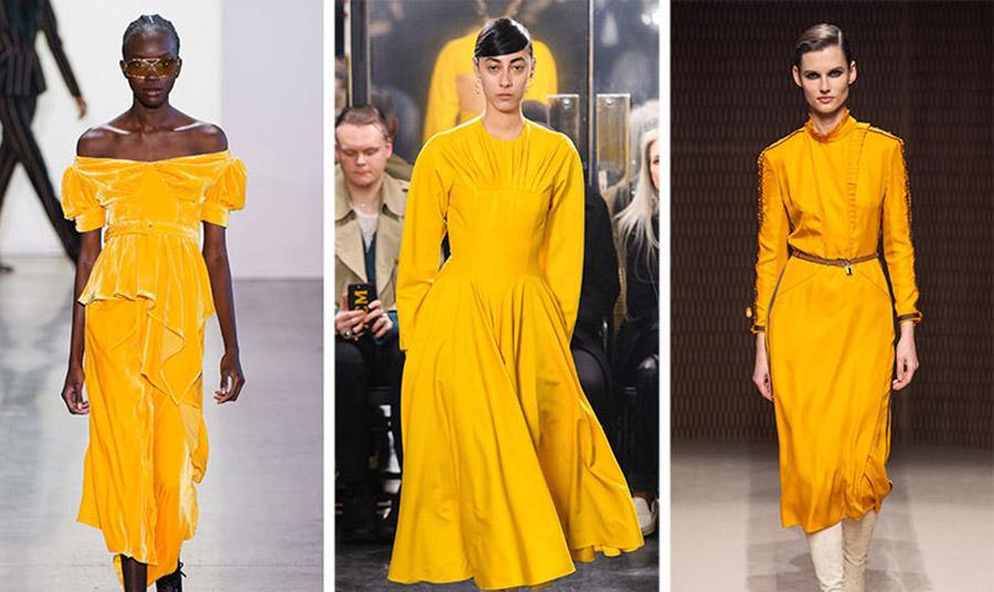 Ένα από τα κορυφαία χρώματα φέτος είναι η πλούσια χρυσοκίτρινη απόχρωση με βάθος και ταυτόχρονα γλυκύτητα.