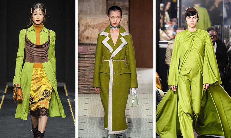 δημοφιλές θα είναι και το πράσινο χρώμα του αβοκάντο αυτή την περίοδο, το οποίο μπορεί να απογειώσει την εμφάνισή μας