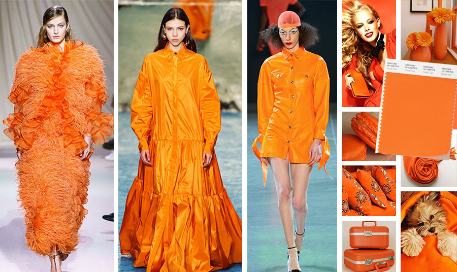 Είναι το χρώμα που μας κάνει… ατρόμητες! Γεμάτο ενέργεια, λάμψη και ένταση, το το orange tiger θα αποτελέσει μια πολύ εντυπωσιακή θερμή απόχρωση στη φετινή μας γκαρνταρόμπα