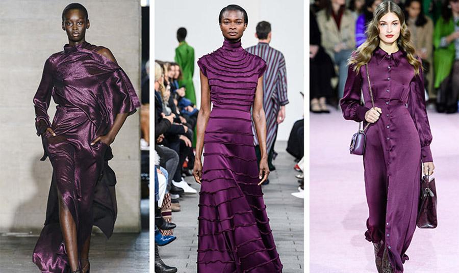 Η tyrian purple είναι μια ακόμη μωβ απόχρωση πιο βαθιά και πιο σκούρα, που θα δούμε στα γυναικεία ρούχα αλλά και στα αξεσουάρ