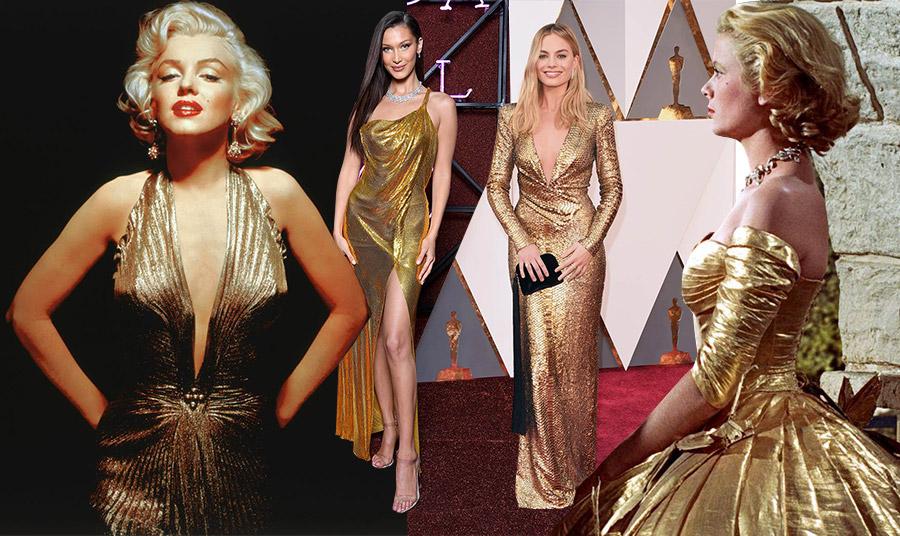 Χρυσά φορέματα που άφησαν εποχή!