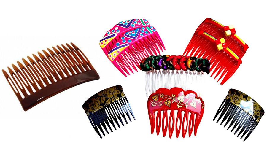Τα χτενάκια είναι της μόδας, ακόμη και τα απλά πλαστικά, είτε στο κλασικό καφέ χρώμα είτε πολύχρωμα και παιχνιδιάρικα