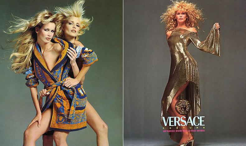 Φωτογραφήσεις της δεκαετίας του ΄90 για τον οίκο Versace από τον Richard Avedon