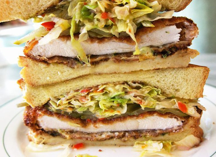 Το κλαμπ σάντουιτς με κοτόπουλο της υψηλής γαστρονομίας!
