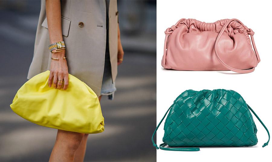 Τον φετινό χειμώνα το χρώμα φαίνεται ότι θα κυριαρχήσει! Το κίτρινο άλλωστε είναι το χρώμα της χρονιάς 2021 // Ροζ, Mansur Gabriel // Υπέροχο πράσινο, Bottega Veneta