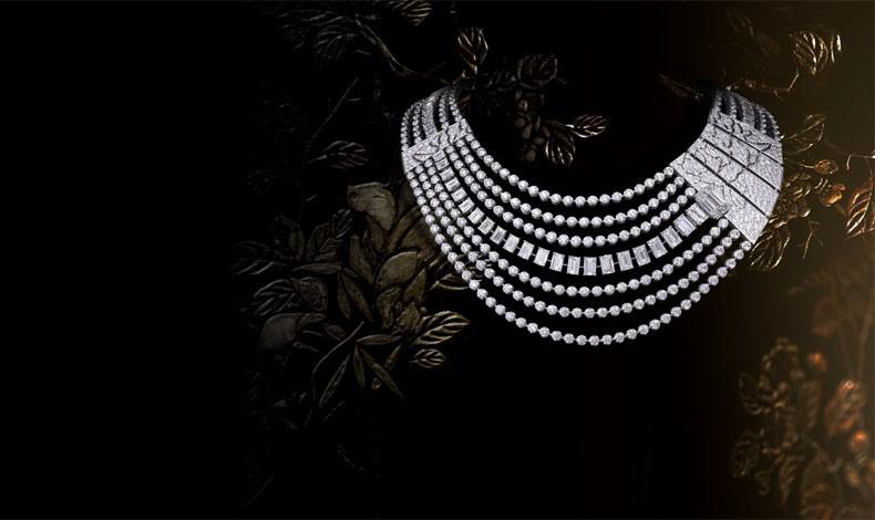 Κολιέ από τη νέα συλλογή κοσμημάτων Chanel από διαμάντια