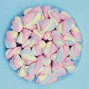Υπέροχα ζαχαρωτά στις παστέλ αποχρώσεις του ροζ και του γαλάζιου