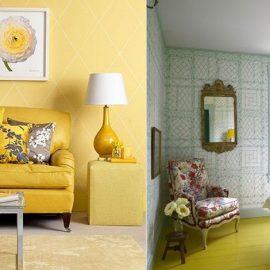 Το λαμπερό κίτρινο στο σπίτι φέρνει κάτι από τη λάμψη και την αισιοδοξία του ήλιου στην καθημερινότητά μας