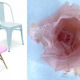 Μία μοντέρνα καρέκλα στις αποχρώσεις μπορεί να κάνει τη διαφορά // Τριαντάφυλλο παγωμένο μέσα σε παγάκι και φωτογραφημένο για τις ανάγκες της Pantone