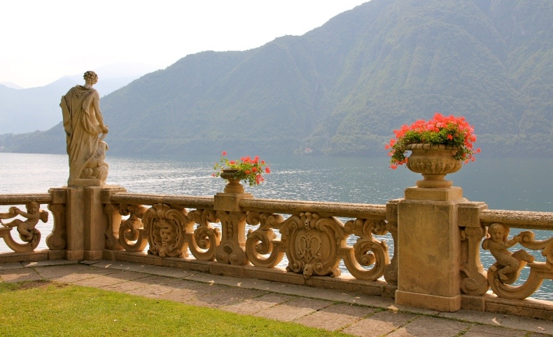Η Villa Balbianello μπορεί να καμαρώνει για μια θέα που κόβει την ανάσα