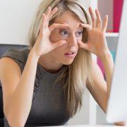 Το κομπιούτερ και... τα μάτια μας!