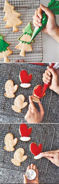 τέτοια μπισκότα, γίνονται και ένα πολύ γλυκό δώρο για τους δικούς σας