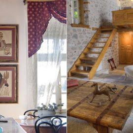 Πίνακες, αντικείμενα και λεπτομέρειες μίας άλλης εποχής σε κάθε γωνιά του αρχοντικού // Μία ενδιαφέρουσα μείξη του παλιού και του καινούργιου