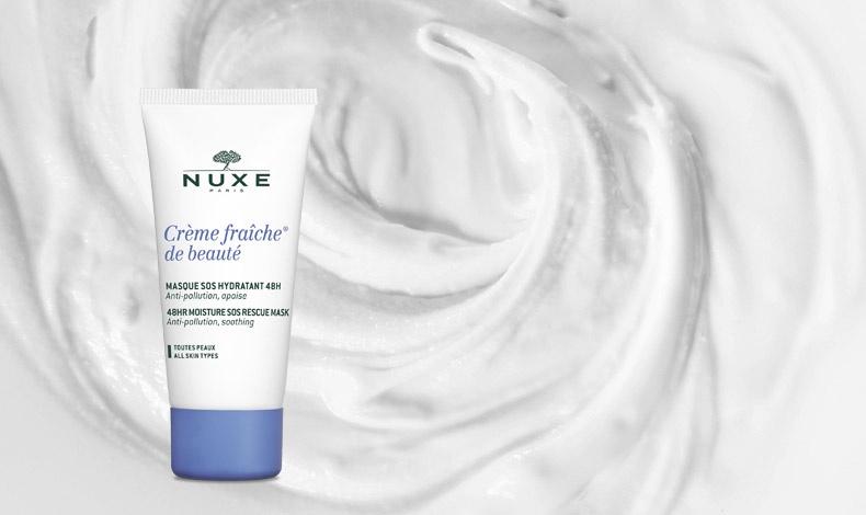 Μία εξαιρετική λύση κατά της πρόωρης γήρανσης που επιτείνεται από τη ρύπανση είναι η μάσκα Crème Fraîche® de Beauté ask για 48ωρη ενυδάτωση με καταπραϋντική δράση
