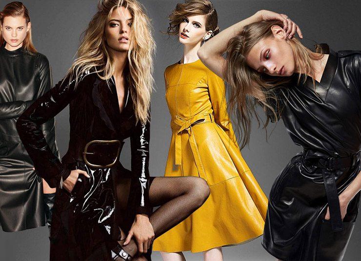 Το δερμάτινο φόρεμα είναι το νέο όπλο της εμφάνισής μας!