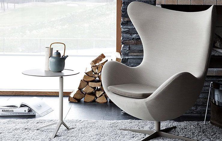 Η πολυθρόνα Egg σχεδιάστηκε από τον Arne Jacobsen το 1958 και από τότε εκτοξεύτηκε στη Βίβλο του σύγχρονου ντιζάιν!