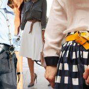 Δέστε… τις ζώνες! Διαφορετικοί τρόποι για να φορέσετε τη ζώνη σας
