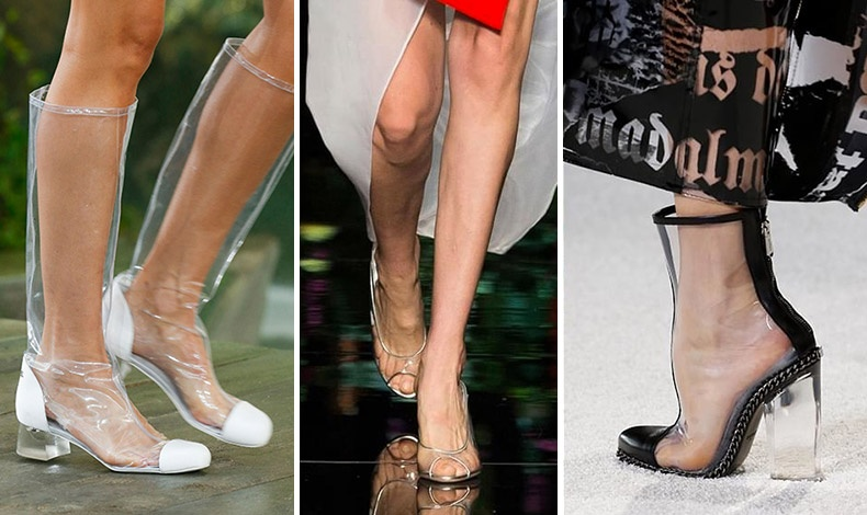 Plastic chic! Chanel // Moschino // Balmain
