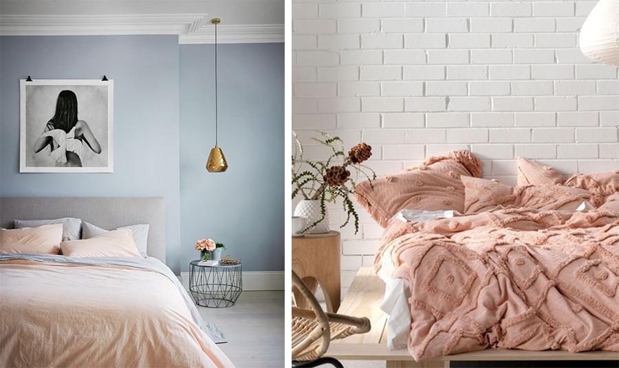 Χρησιμοποιήστε ακόμη και τα υπάρχοντα σεντόνια σας «παίζοντας» με διαφορετικά χρώματα ή προσθέστε ένα όμορφο κουβρλί και ανάλογα μαξιλάρια στο κρεβάτι σας