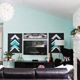 Οι καθαρές οροφές και οι προσεγμένα βαμμένοι τοίχοι αναβαθμίζουν αυτομάτως το αισθητικό αποτέλεσμα