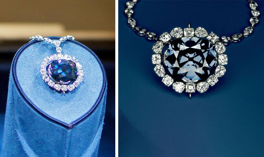 Ένα από τα πιο εντυπωσιακά πετράδια στον κόσμο, το διαμάντι «Hope» ή «Ελπίδα» στα ελληνικά, έχει βάρος 45 καράτια και μπλε απόχρωση. Λέγεται ότι όποιος το αποκτά και την… κατάρα του