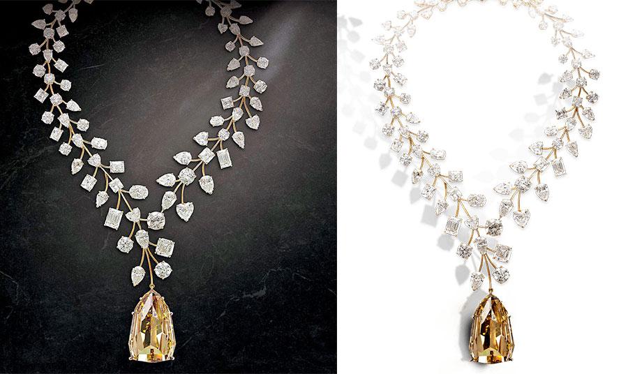 Το διαμαντένιο κολιέ «L' Incomparable», με βάρος 637 καράτια, αποτελεί το πιο ακριβό κολιέ στον κόσμο!